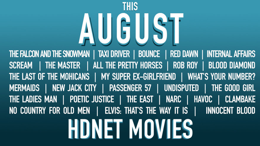 Featured movies on HDNET movies for August