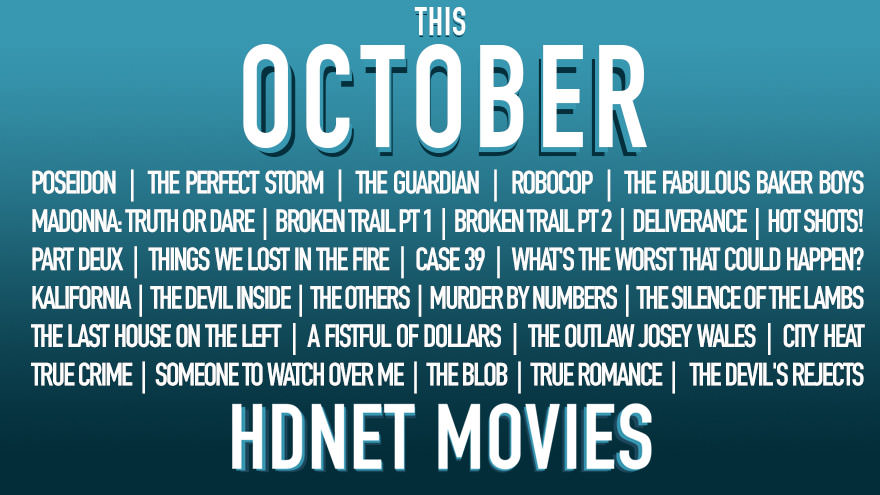 HDNet Movies for October