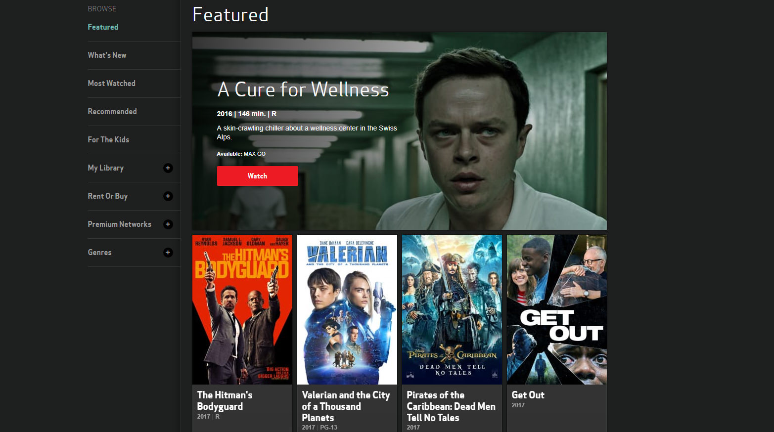 Verizon FIOS Free On Demand Preview