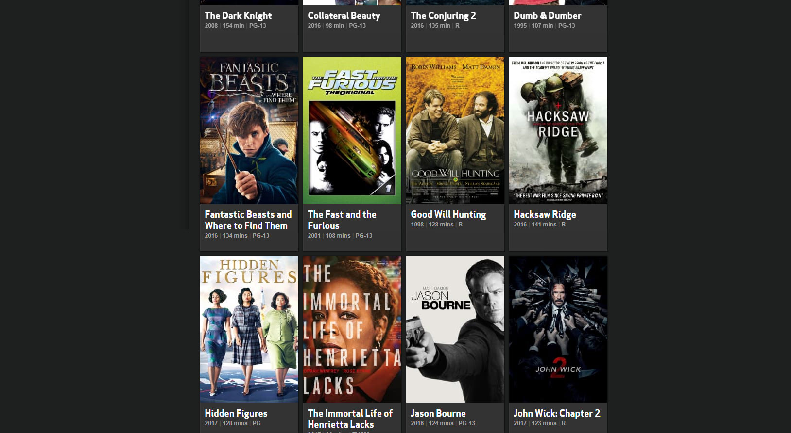 HBO Go On Demand Movies