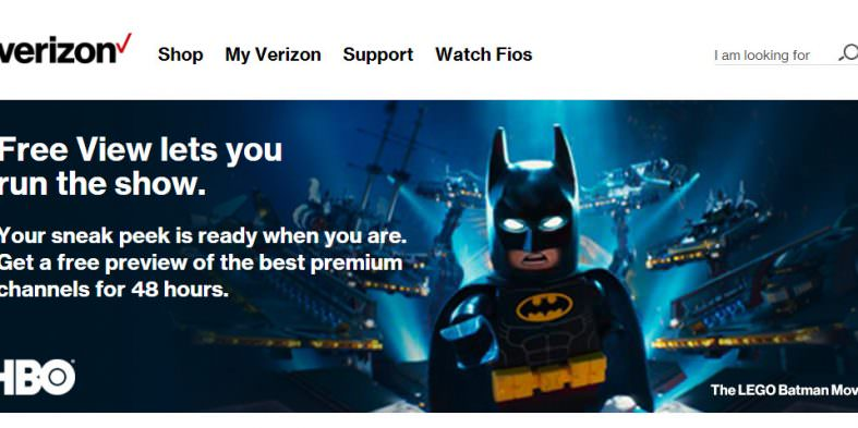 Verizon FIOS Free View