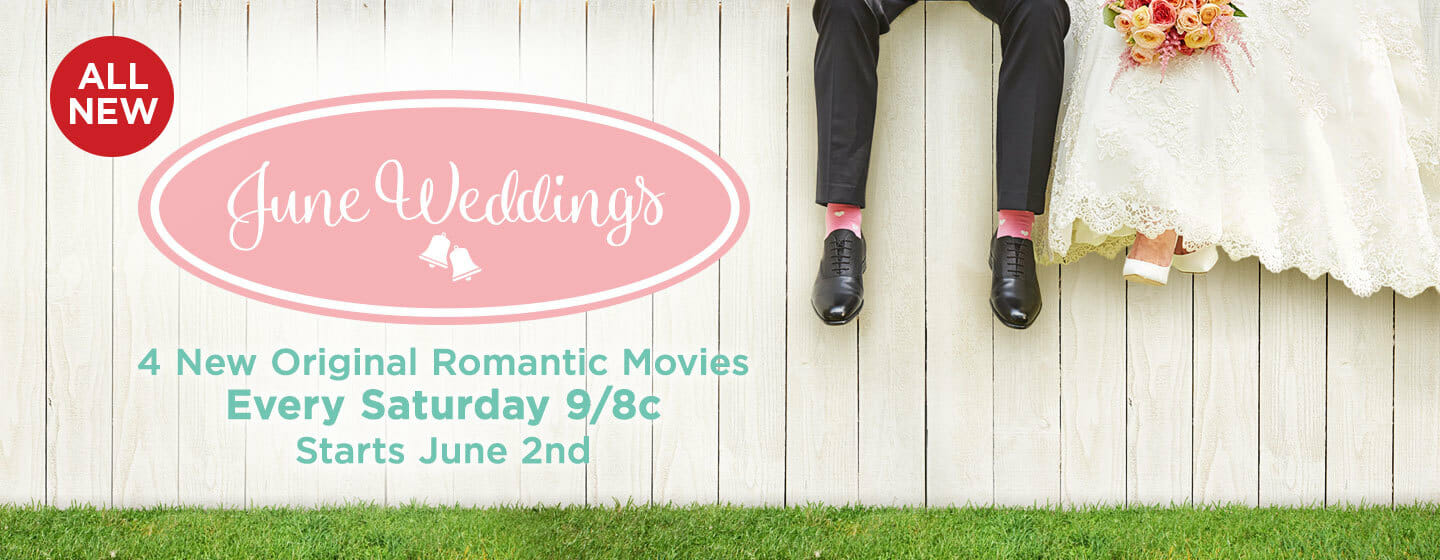 June wedding promo for Hallmark Channel