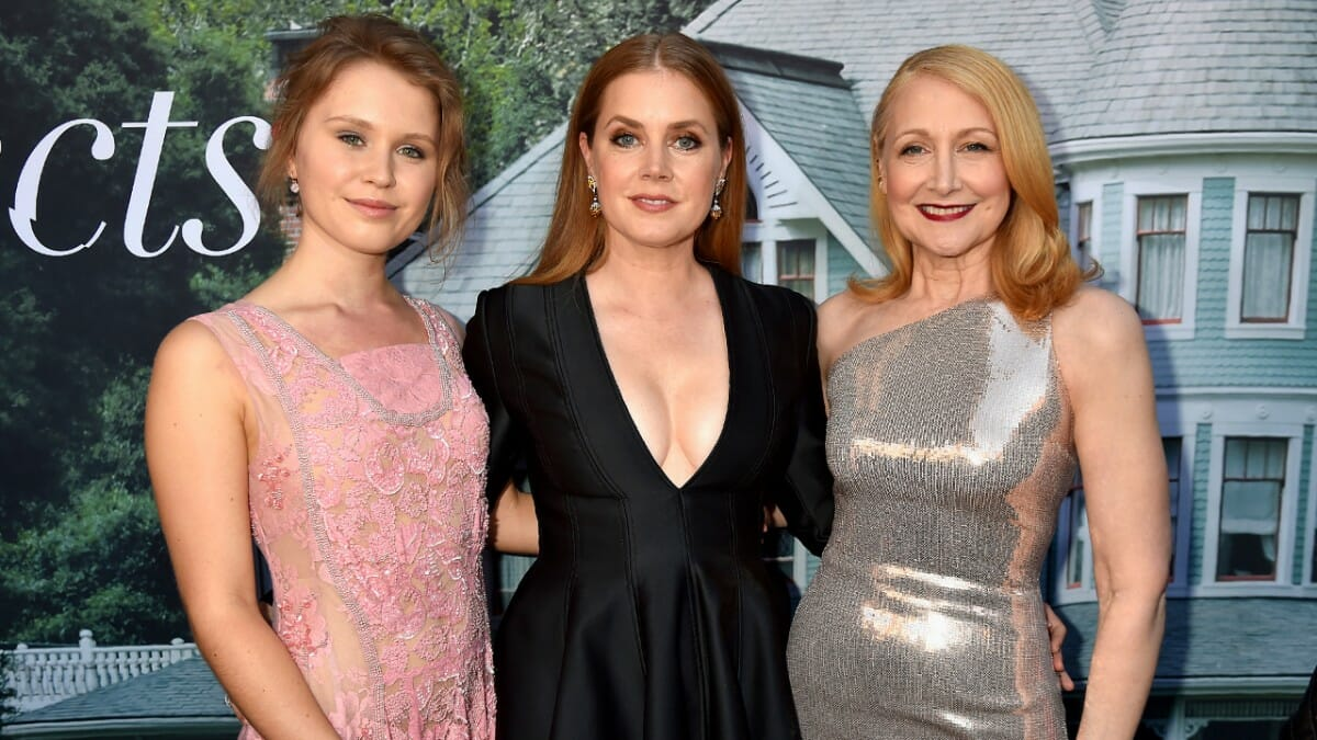Eliza Scanlen, Amy Adams and Patricia Clarkson