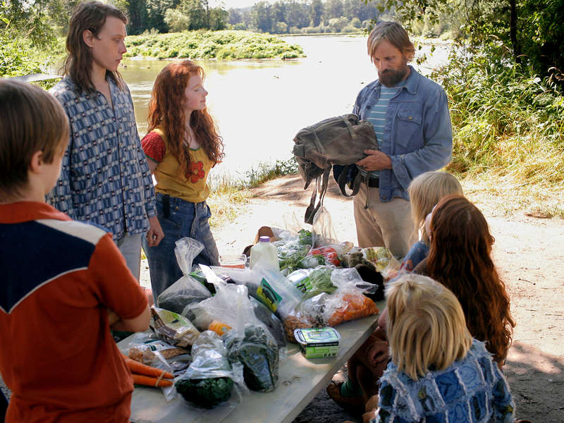 Captain Fantastic movie scene