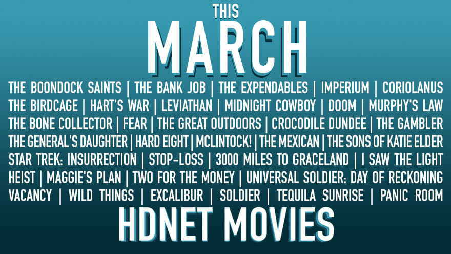 HDNet Movies for March