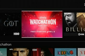 Get Ready for Xfinity's Watchathon Week 2019